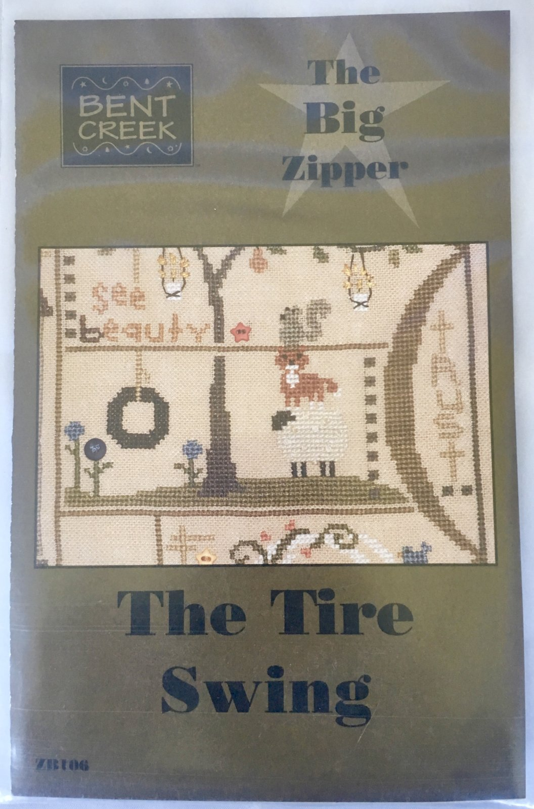 Bent Creek: The Tire Swing Big Zipper Kit ZB106