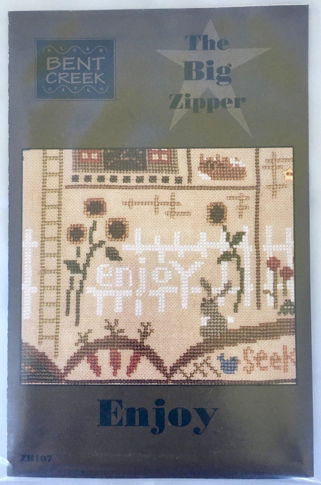 Bent Creek: Enjoy Big Zipper Kit ZB107