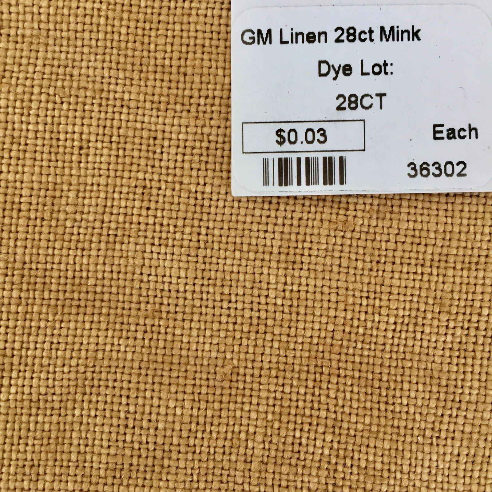 GM Linen 28ct Mink