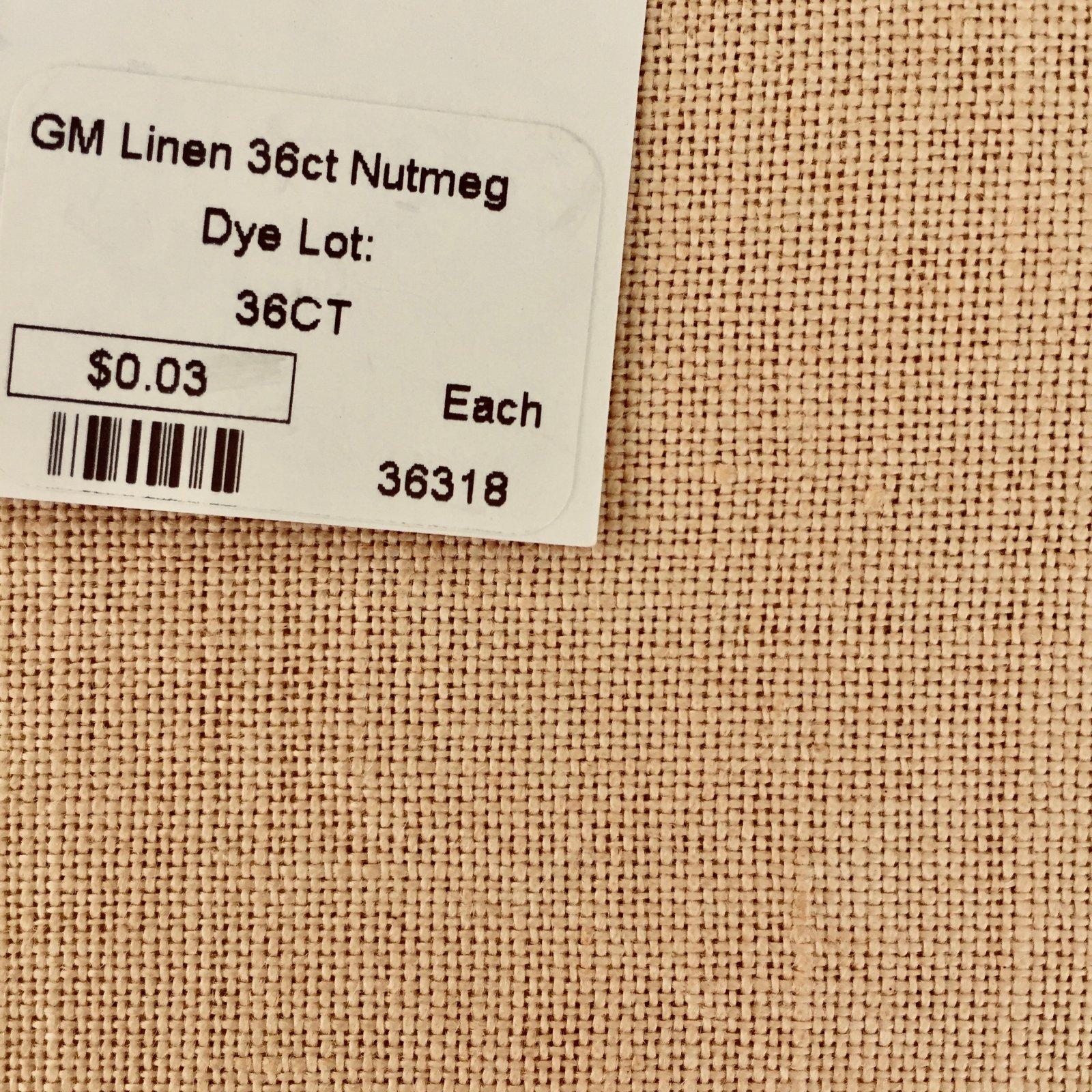 GM Linen 36ct Nutmeg