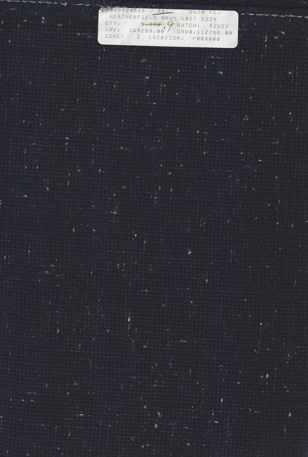 Heatherfield 10ct Navy (discontinued color)