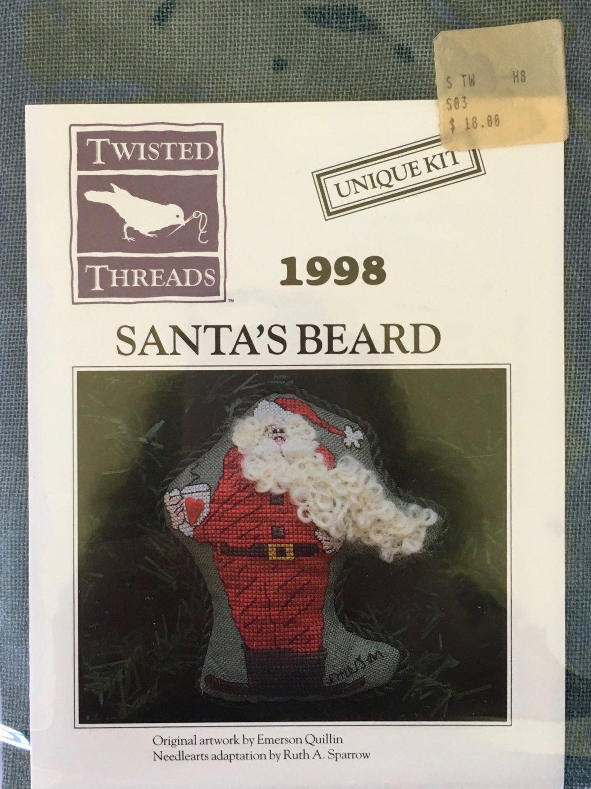 1998 Santa's Beard