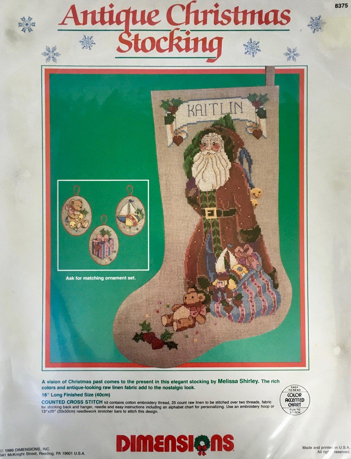 Antique Christmas Stocking Kit