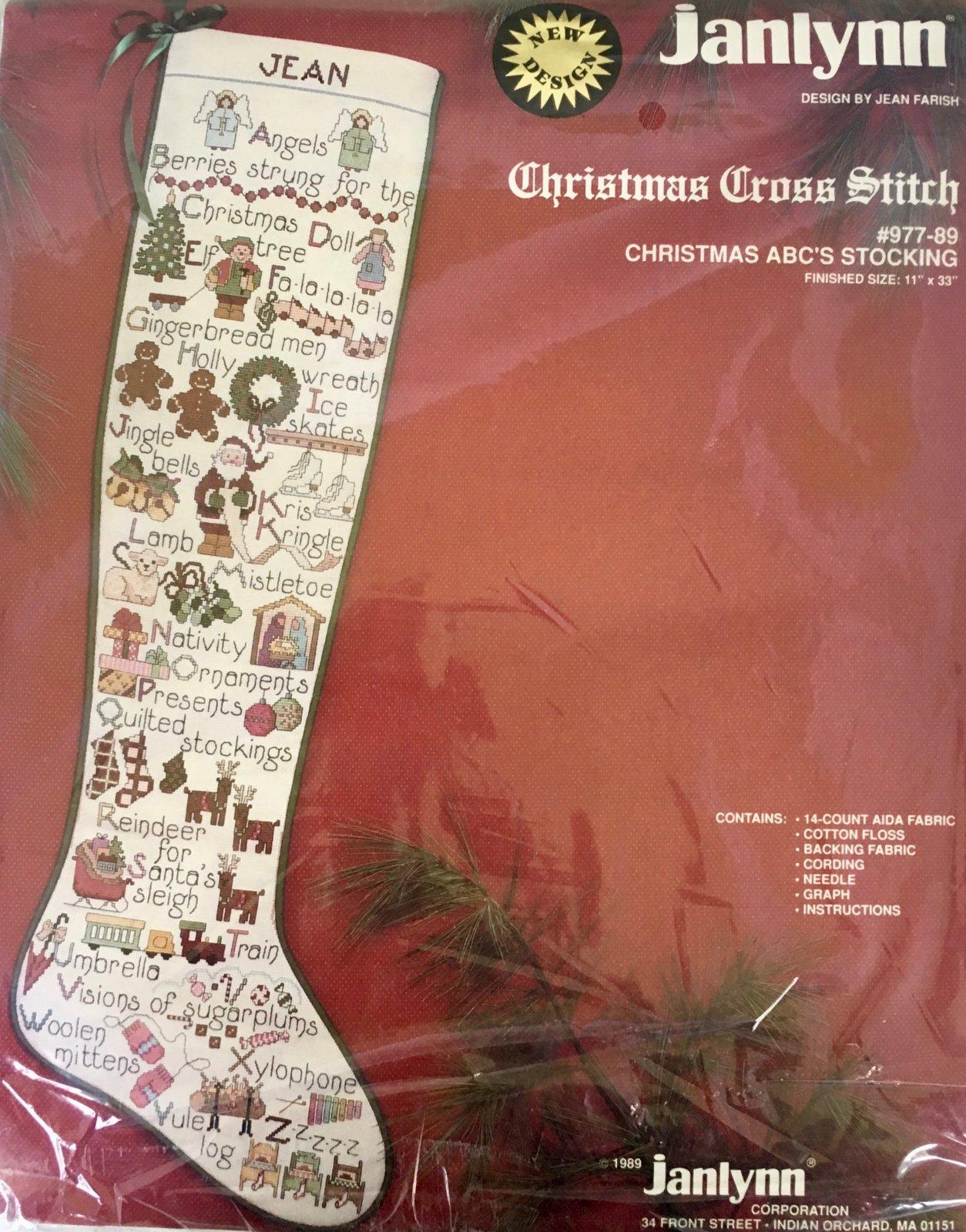 Christmas ABC's Stocking Kit