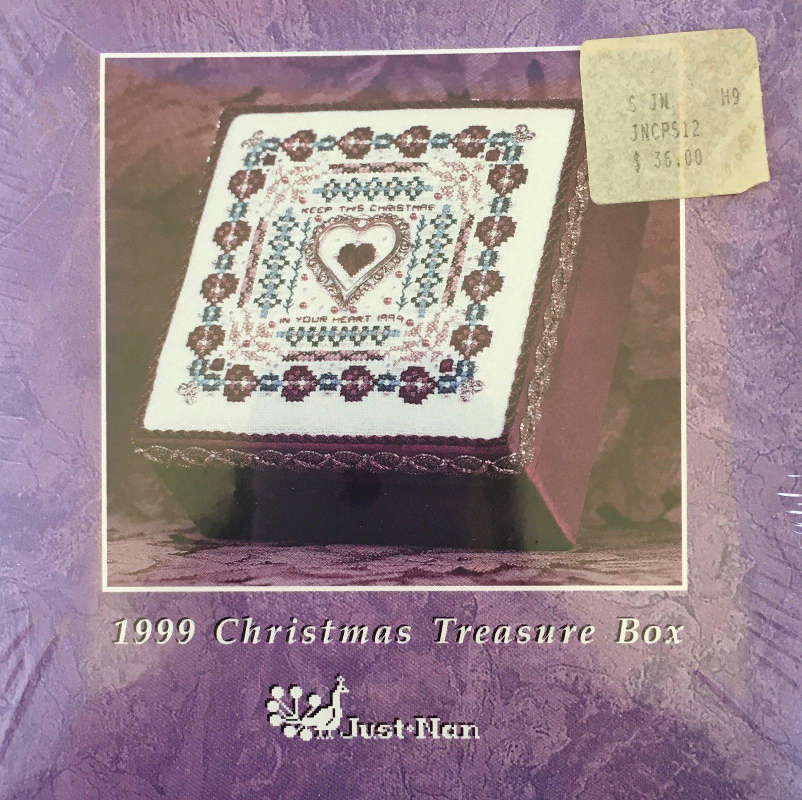 1999 Christmas Treasure Box Kit