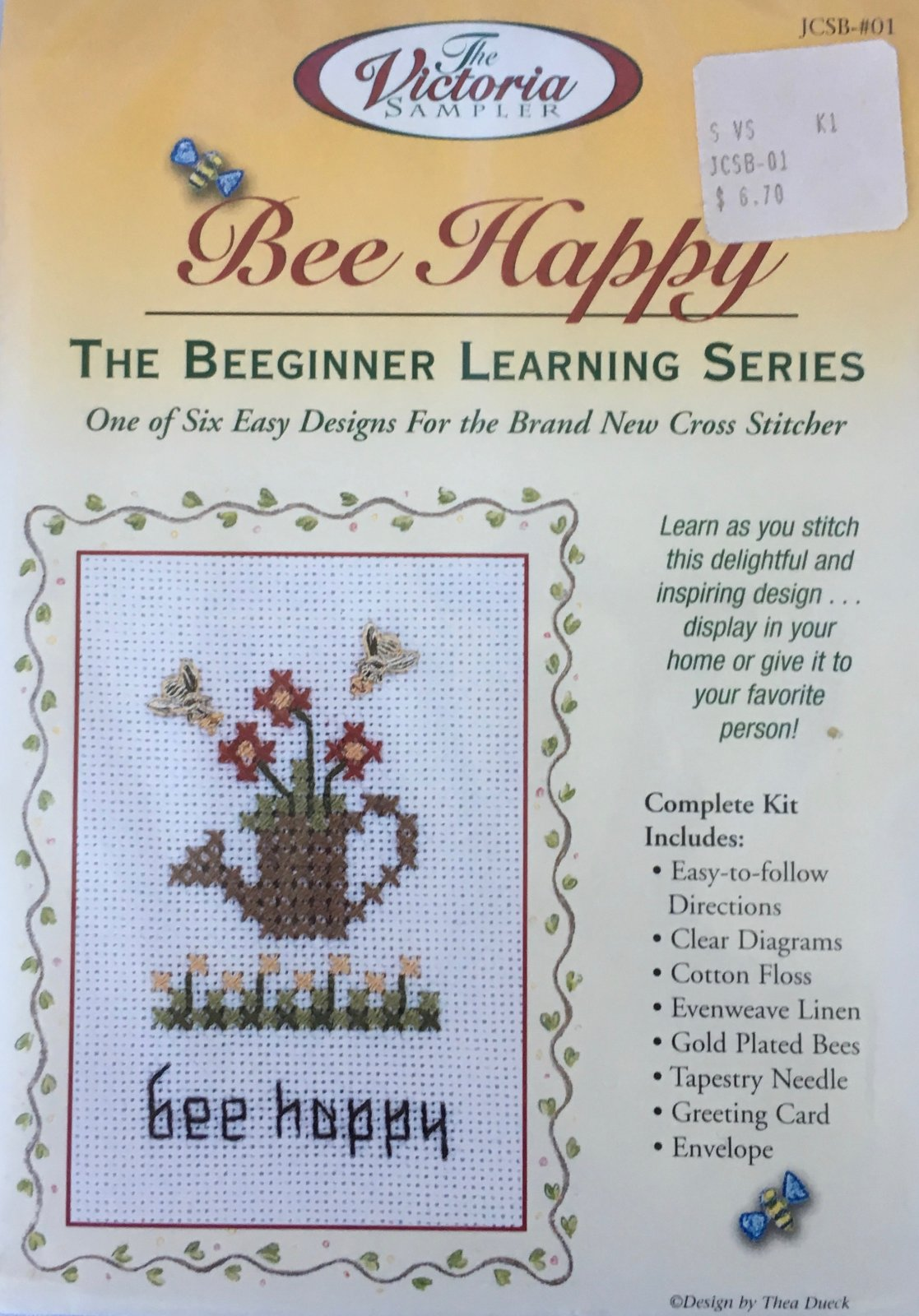 The Victoria Sampler: Bee Happy Kit JCSB-#01