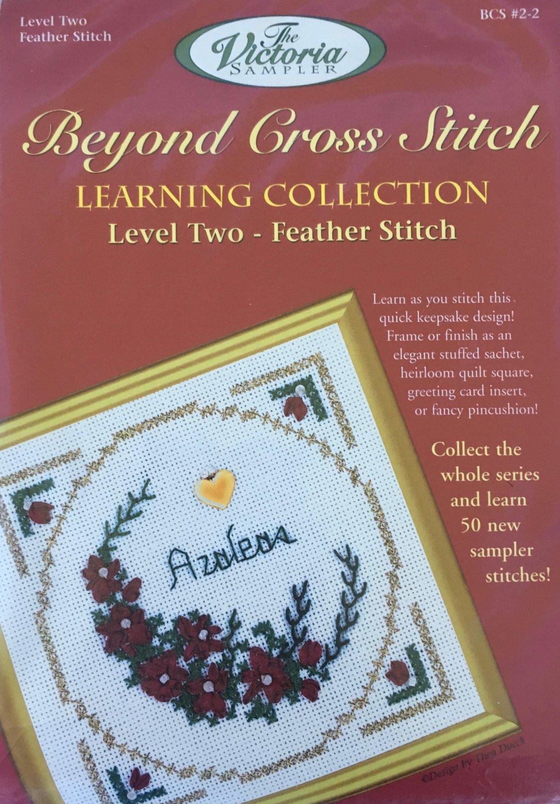 The Victoria Sampler: Azaleas Level 2 - #2 Kit; Feather Stitch