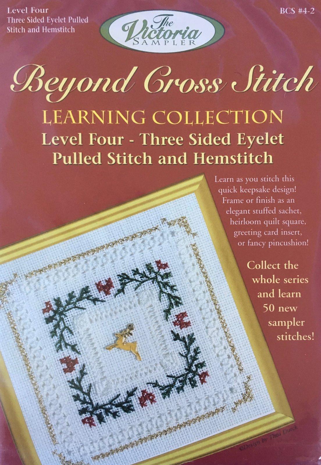 The Victoria Sampler: Evergreen Level 4 - #2 Kit; Three-Sided Eyelet Pulled Stitch & Hemstitch