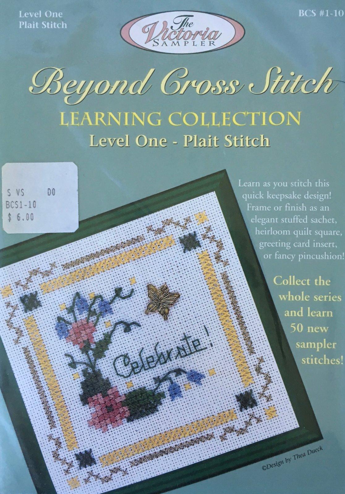 The Victoria Sampler: Celebrate! Level 1 - #10 Kit; Plait Stitch