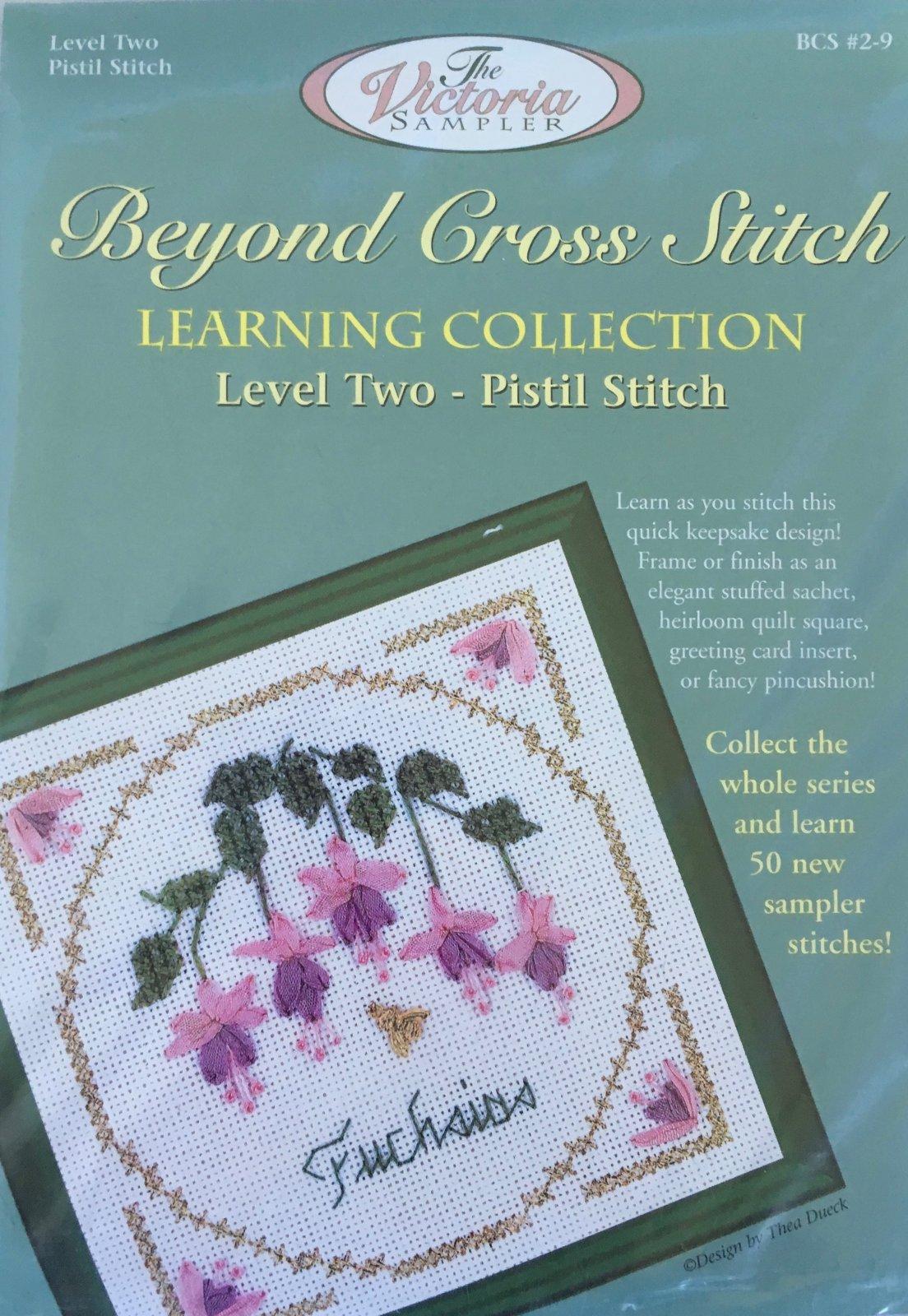 The Victoria Sampler: Fuchsias Level 2 - #9 Kit; Pistil Stitch