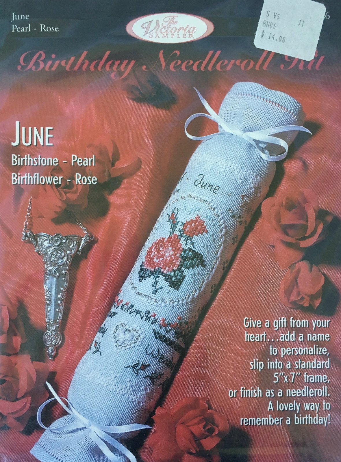 The Victoria Sampler: Birthday Needleroll Kit June BN #06