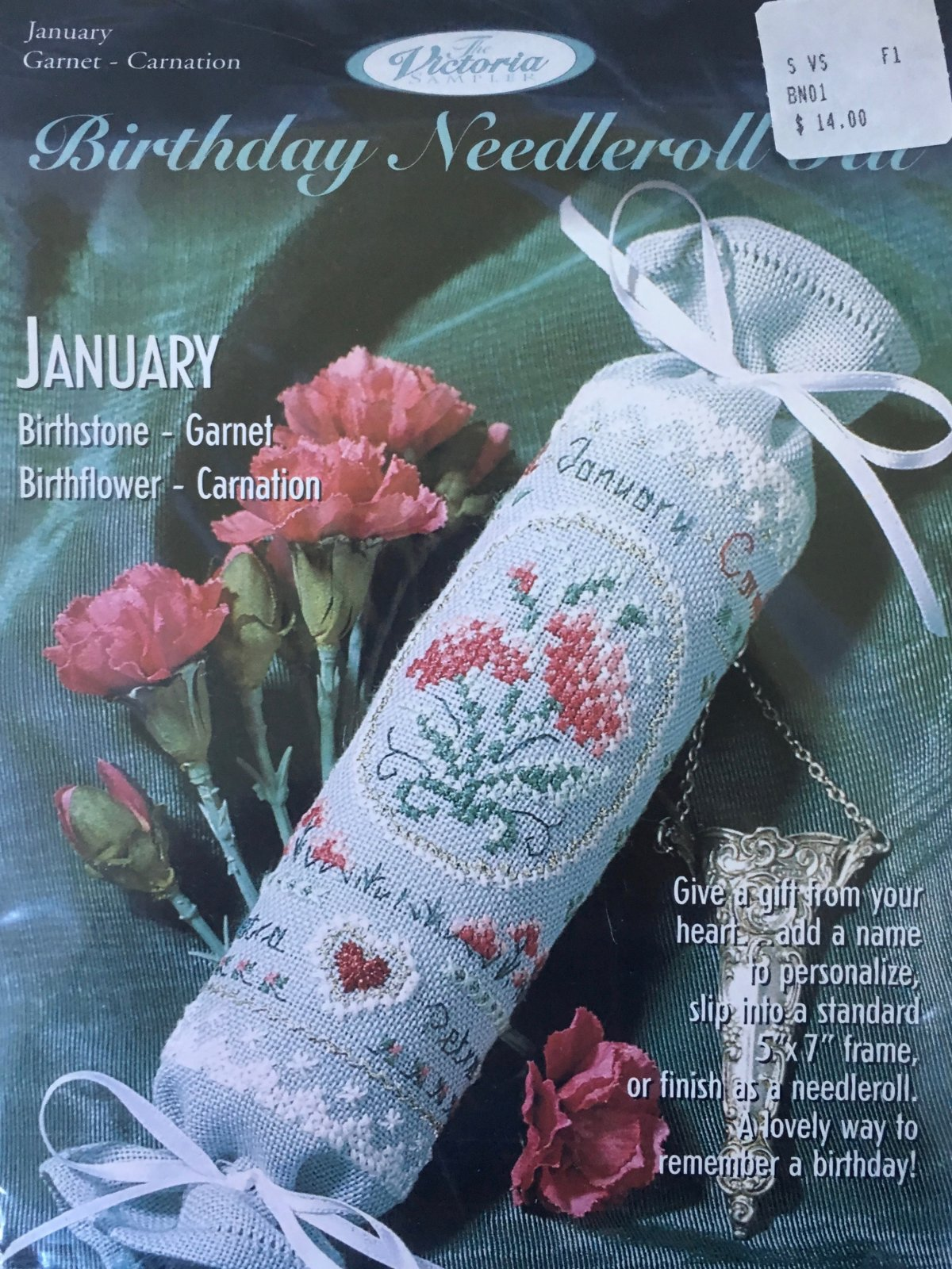 The Victoria Sampler: Birthday Needleroll Kit January BN #01