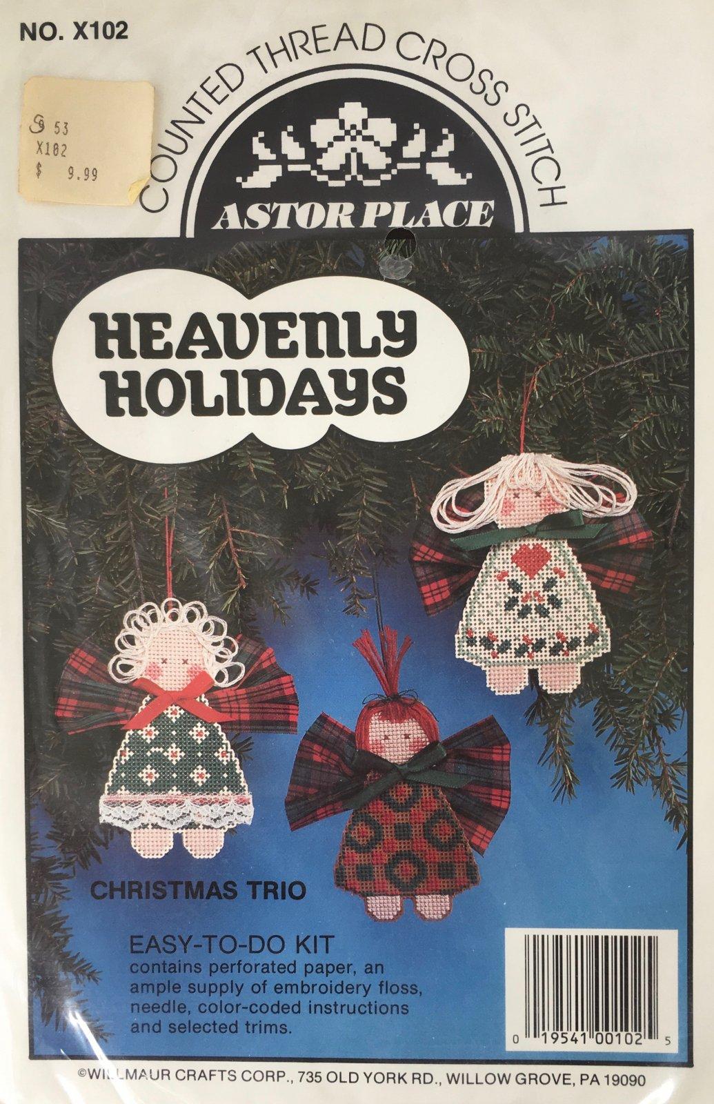 Astor Place: Heavenly Holidays Christmas Trio Kit X102