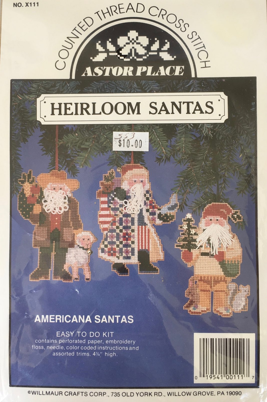 Astor Place: Americana Santas Kit X111