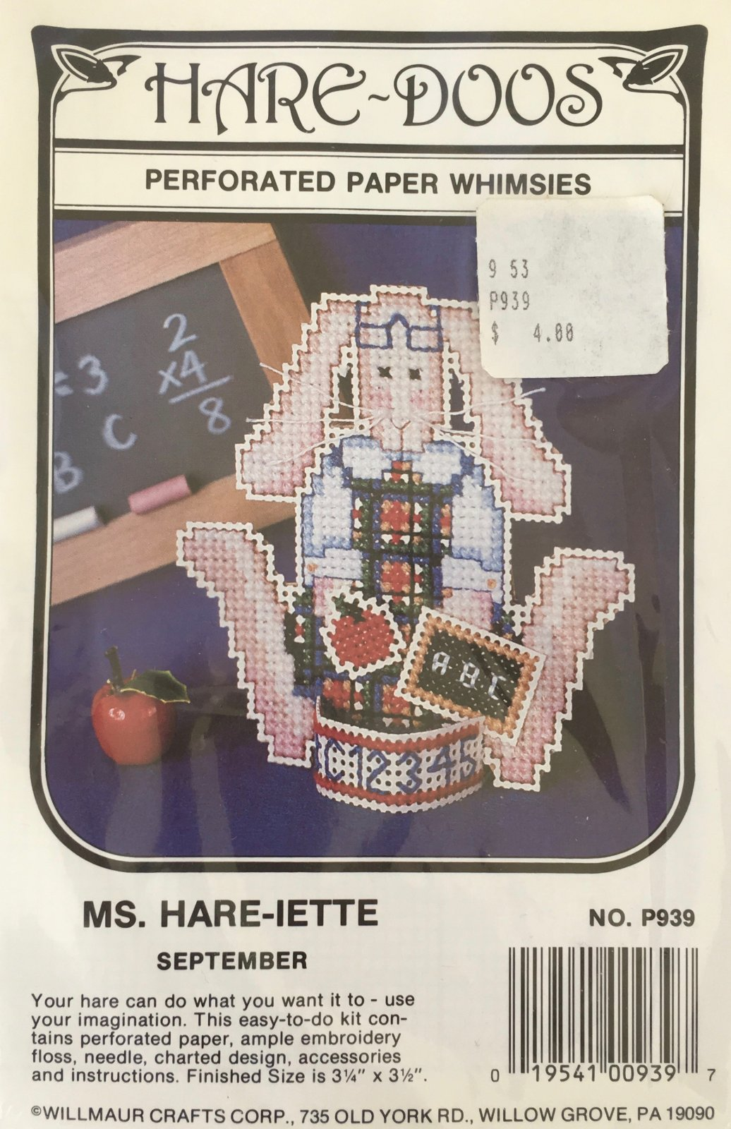 Astor Place: Hare-Doos Ms. Hare-iette Kit September P939