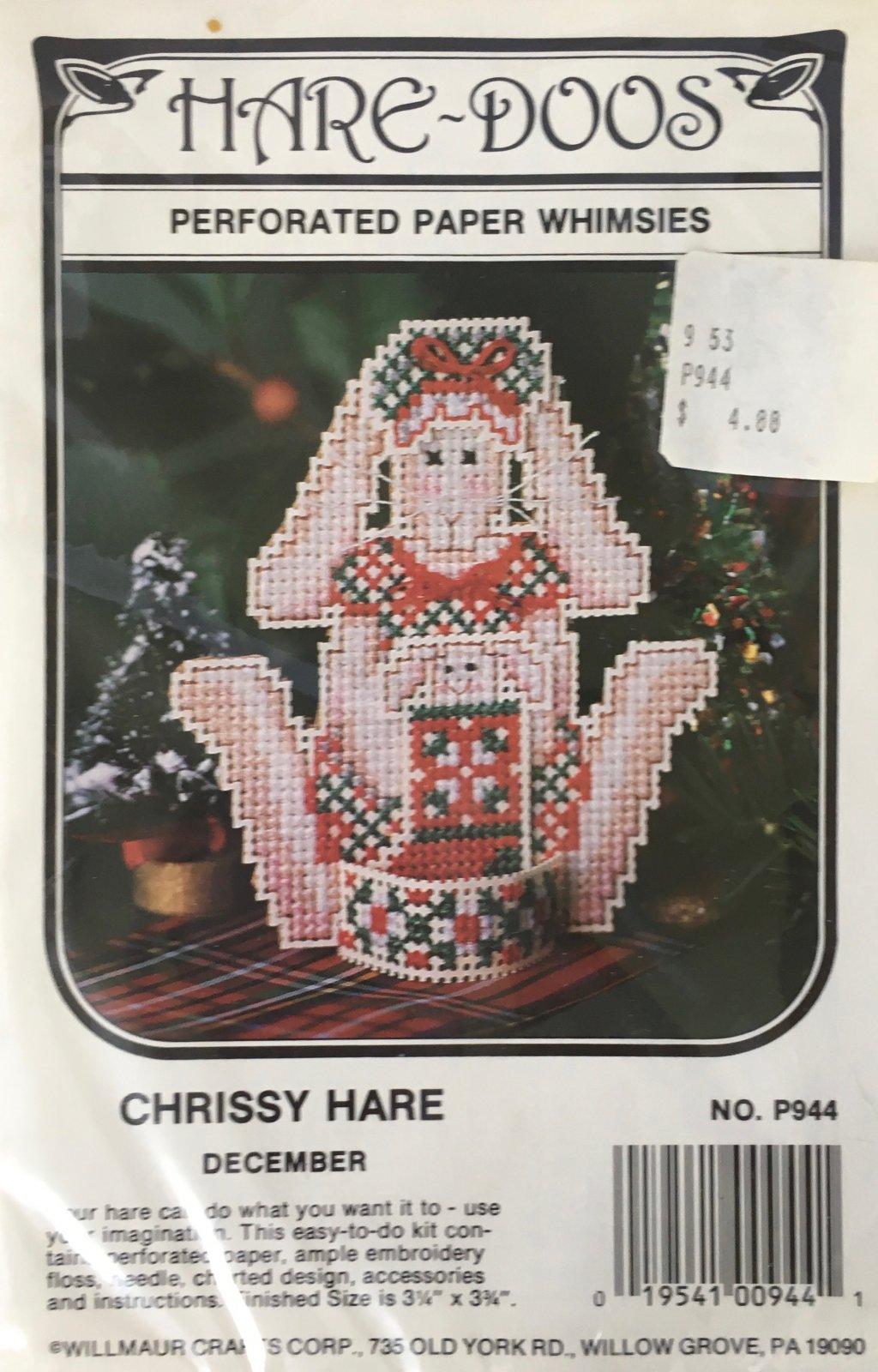 Astor Place: Hare-Doos Chrissy Hare Kit December P944