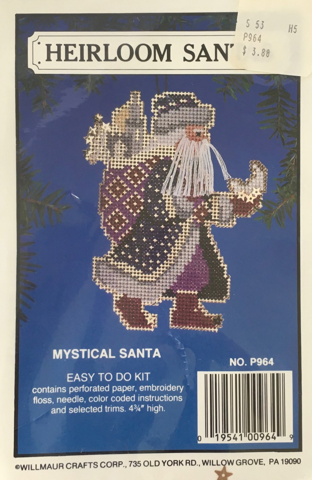 Astor Place: Heirloom Santas Mystical Santa Kit P964
