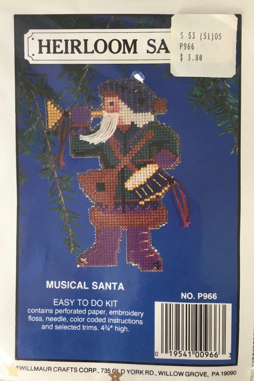 Astor Place: Heirloom Santas Musical Santa Kit P966
