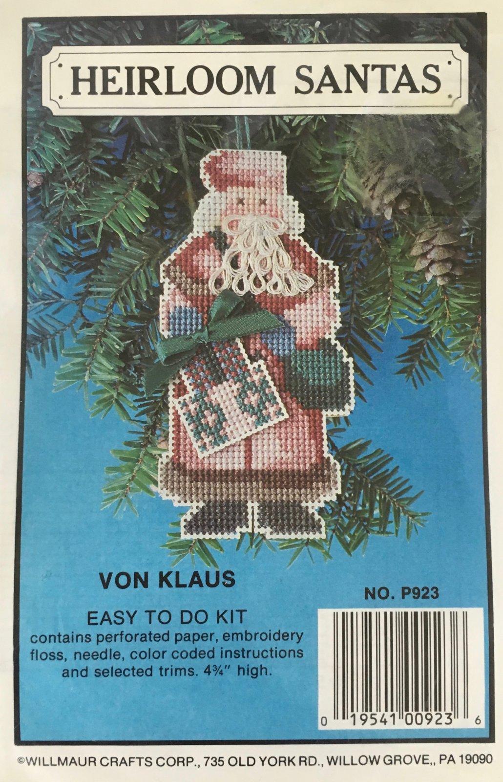 Astor Place: Heirloom Santas Von Klaus Kit P923