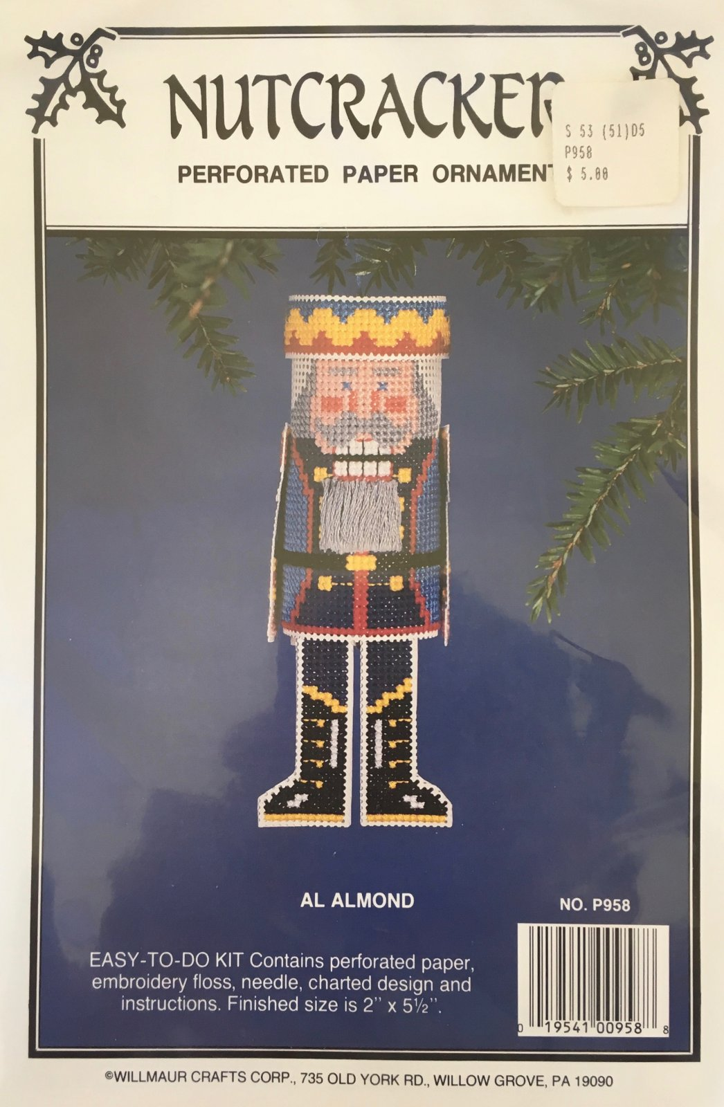 Astor Place: Nutcracker Al Almond Kit P958