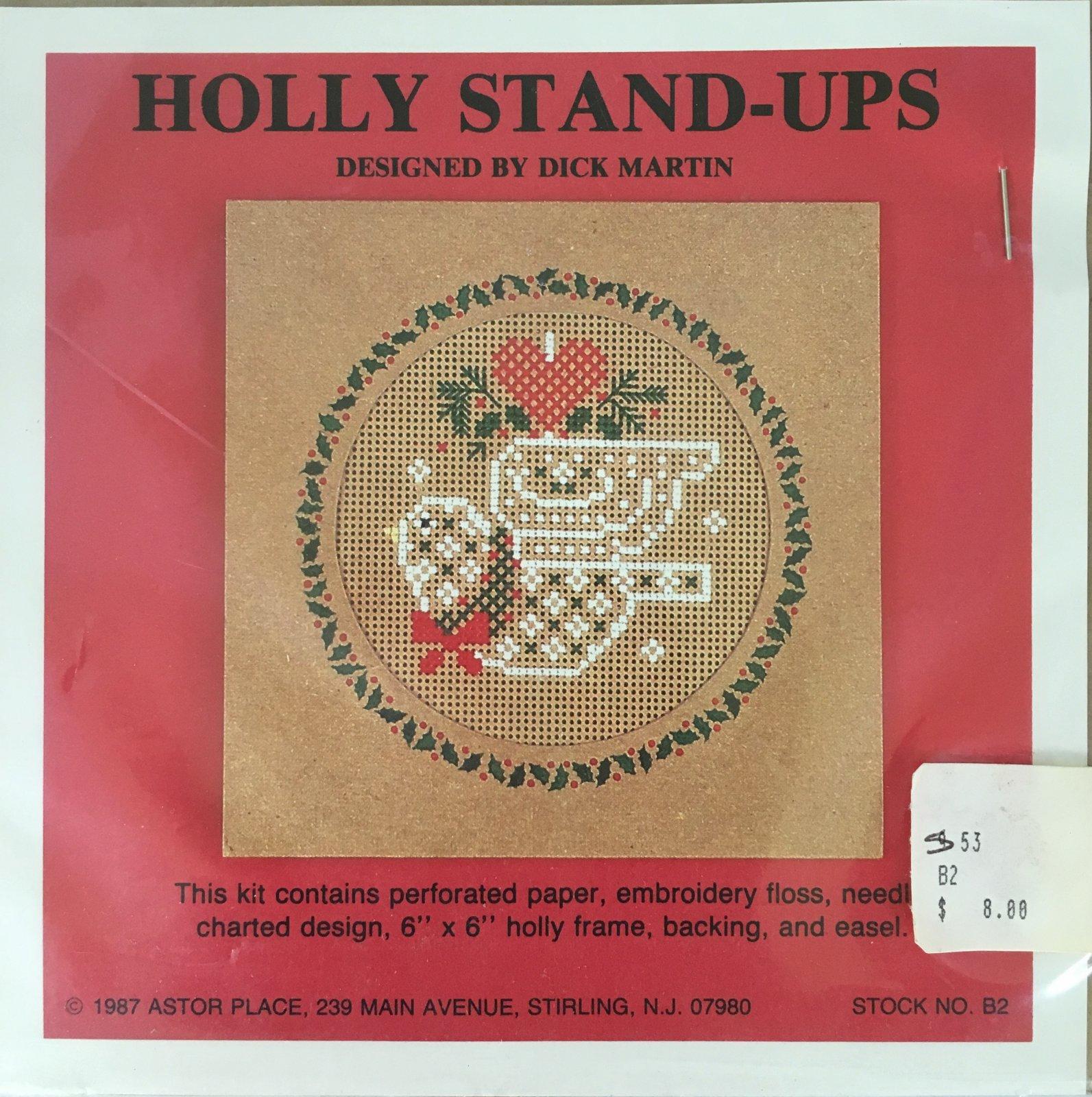 Astor Place: Holly Stand-Ups Bird Kit B2