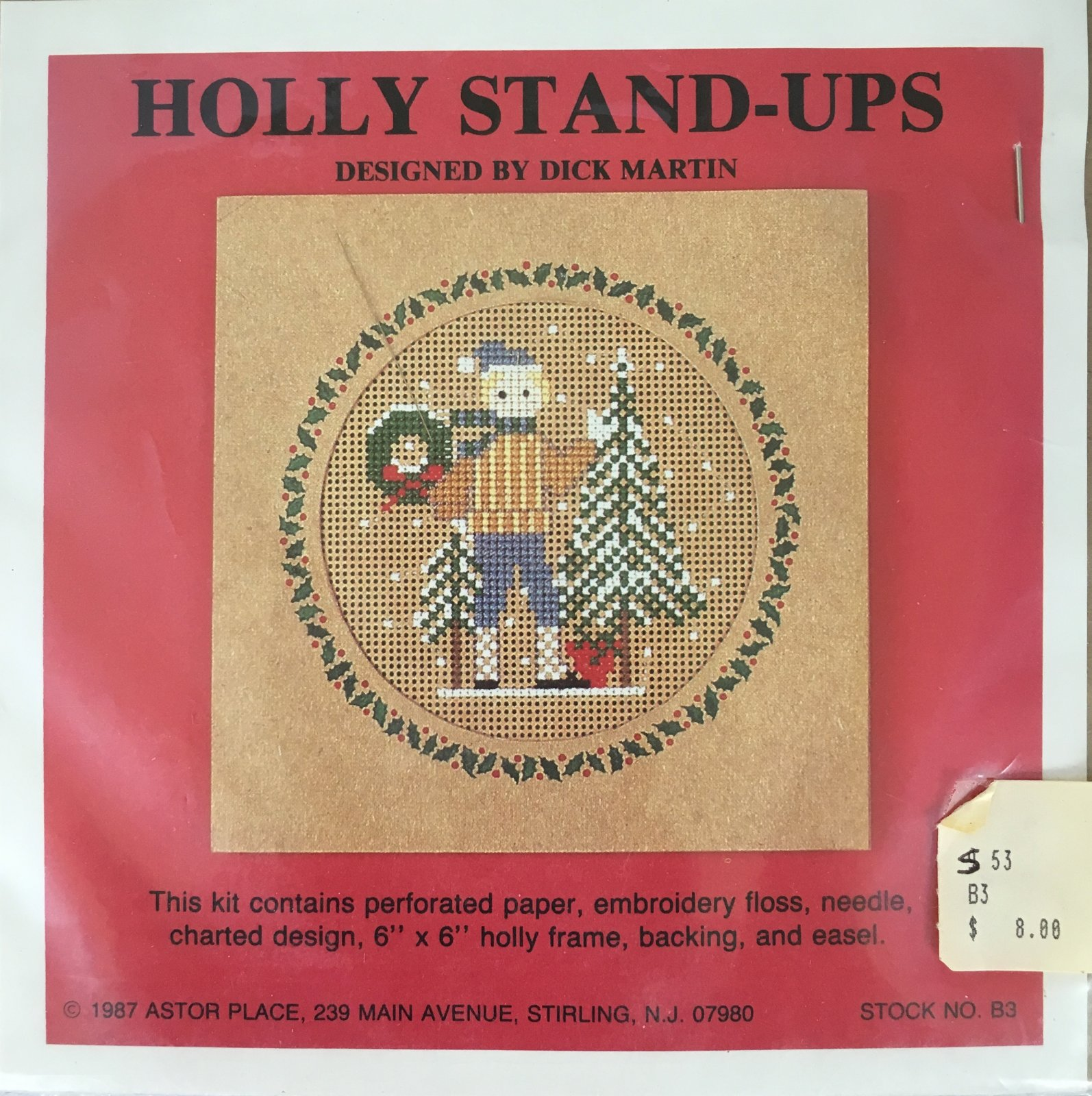 Astor Place: Holly Stand-Ups Boy Kit B3