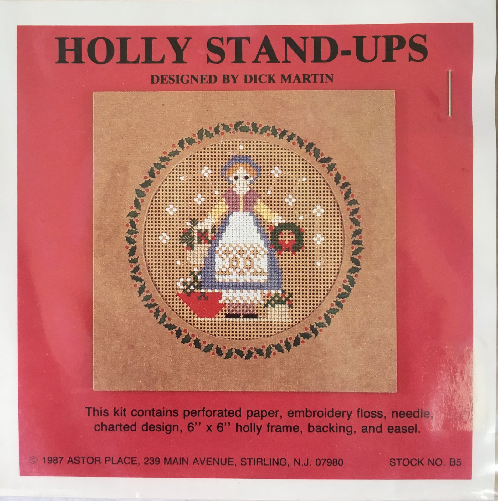 Astor Place: Holly Stand-Ups Girl Kit B5