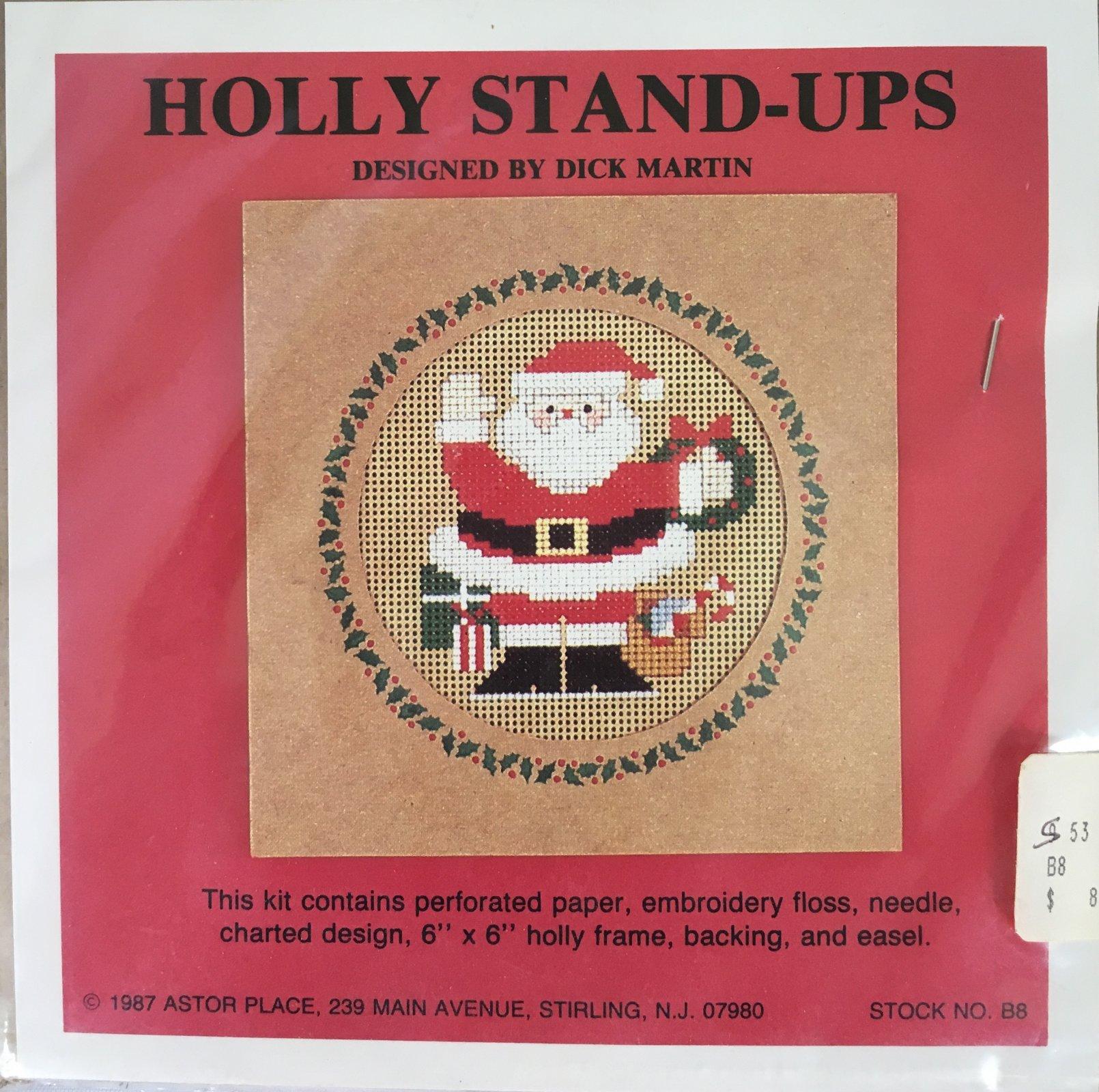 Astor Place: Holly Stand-Ups Santa B8