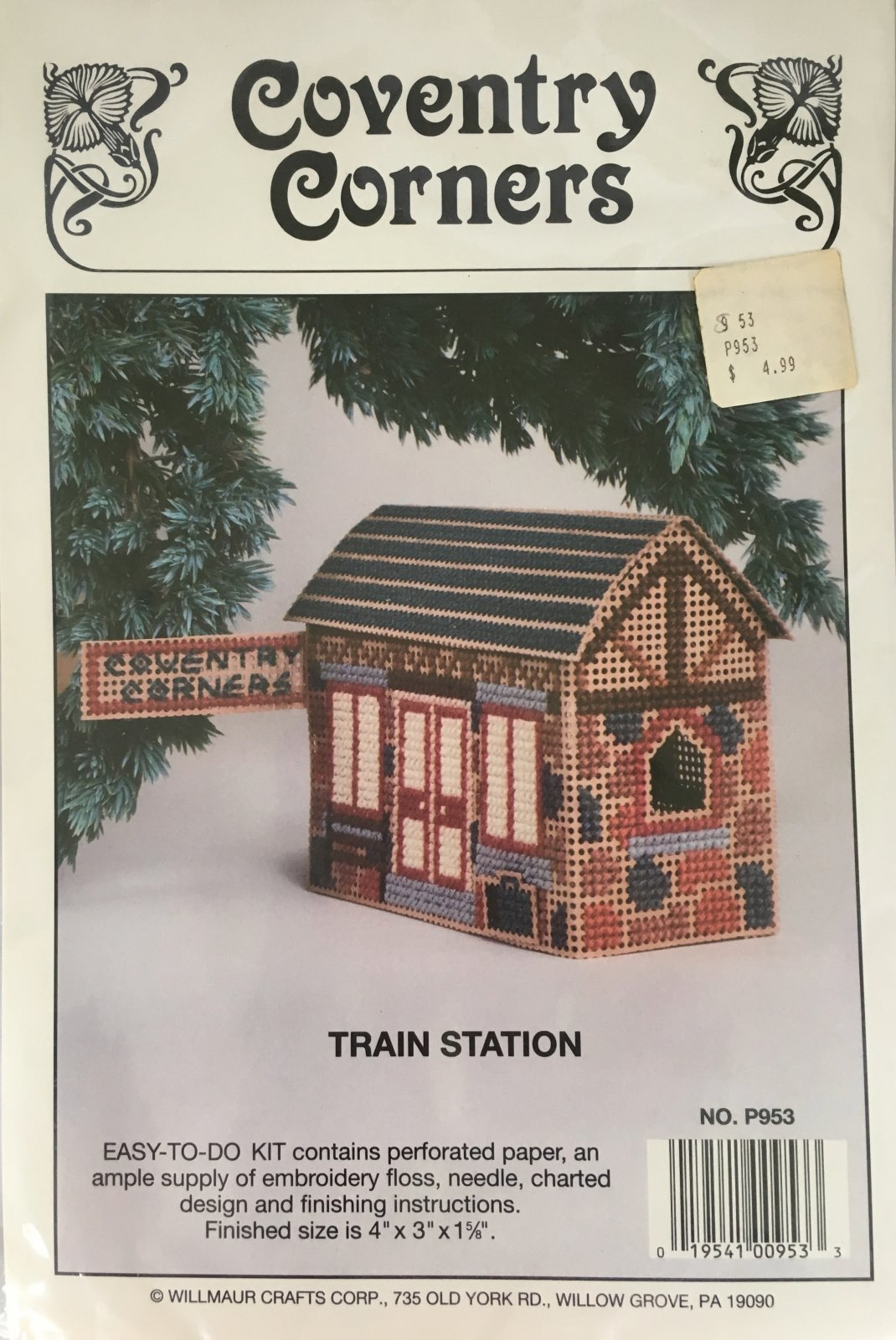 Astor Place: Coventry Corners Train Station Kit P953
