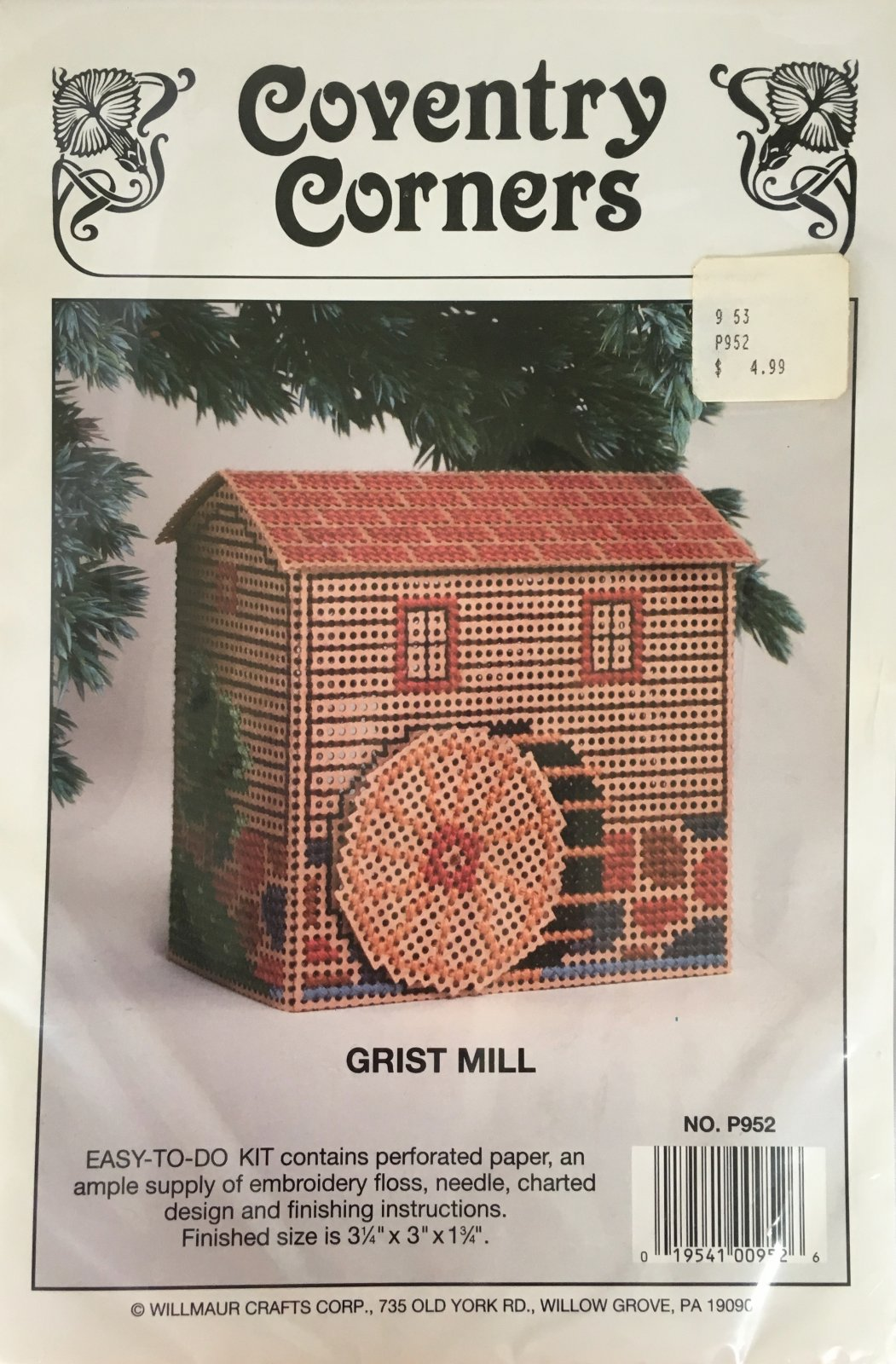 Astor Place: Coventry Corners Grist Mill Kit P952