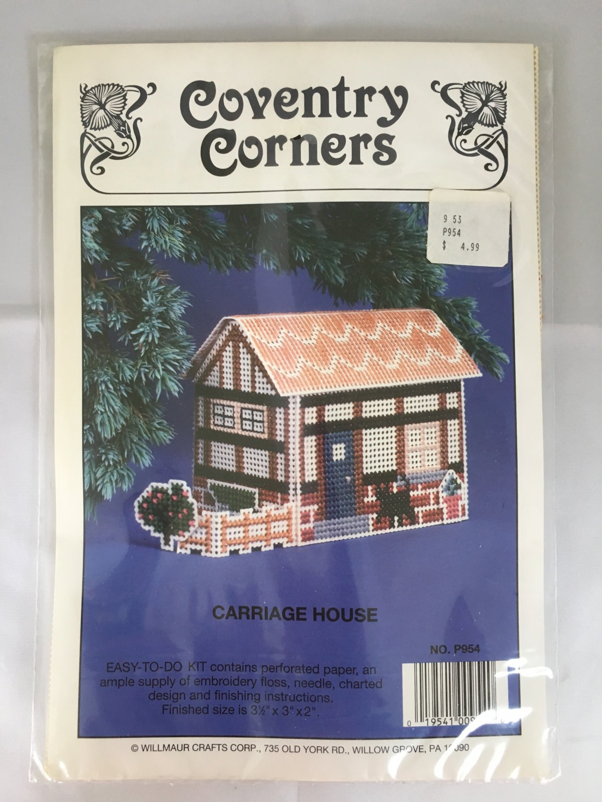 Astor Place: Coventry Corners Carriage House Kit P954