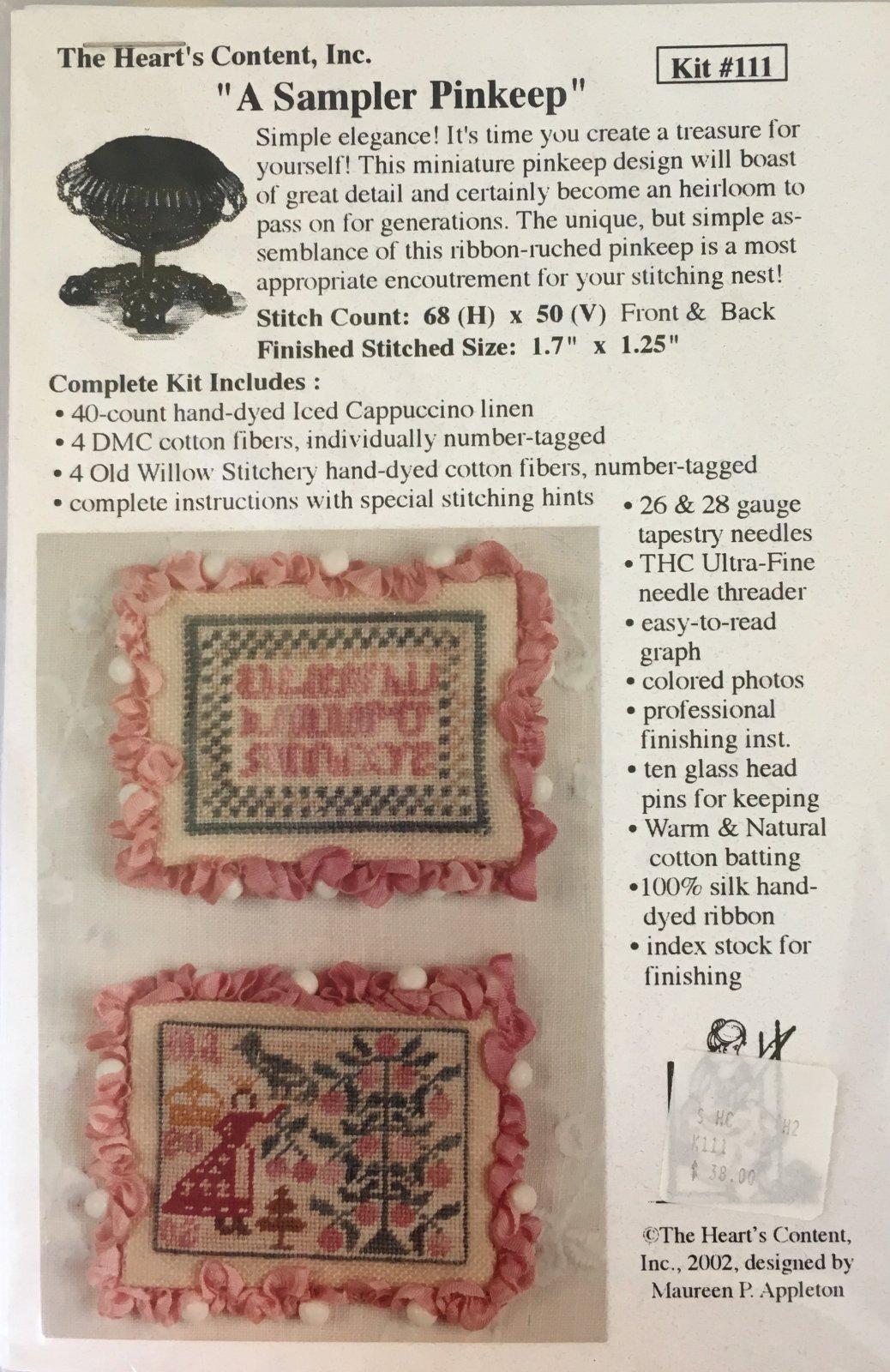 A Sampler Pinkeep Kit