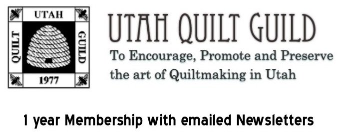 1 Year Utah Quilt Guild Membership  - Emailed Newsletter