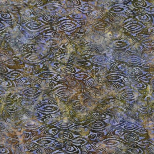 Batik Tambal - Shapes-Eyes, Midnight blue-violet 10141662