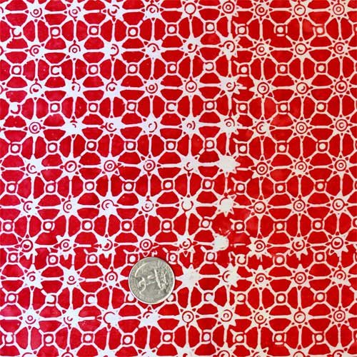 Batik Tambal - Connections Red 10161611
