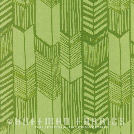 Hoffman Batik -  Me & You Indah Batik - Feathered Arrow Leaf 104-178