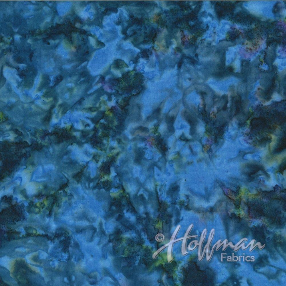 Hoffman Batik - 1384 123 Mottles Lapis
