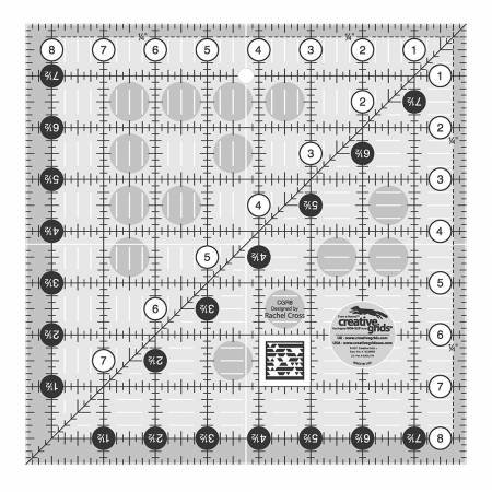 Creative Grids - CGR8 8-1/2in Square