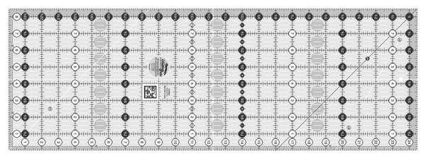 Creative Grids - CGR824 Rec 8 1/2 x 24 1/2 Ruler