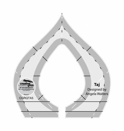 Creative Grids - CGRQTA5 Machine Quilting -Taj