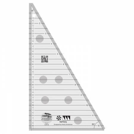 Creative Grids - CGRT30 Half Sixty Triangle Ruler