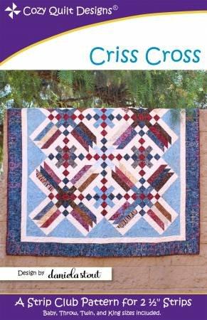 Cozy Quilt Designs - Criss Cross