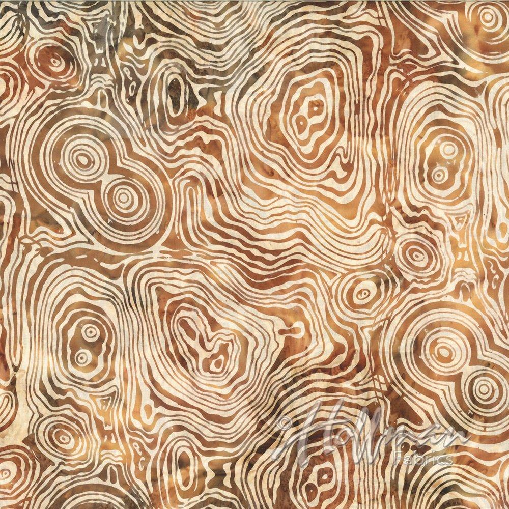 Hoffman Batik - P2018 36 Malachite Amber