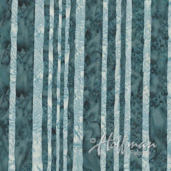 Hoffman Batik - Q2122 173 Stripes Smoke