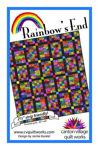 Canton Village Quilt Works - Rainbows End
