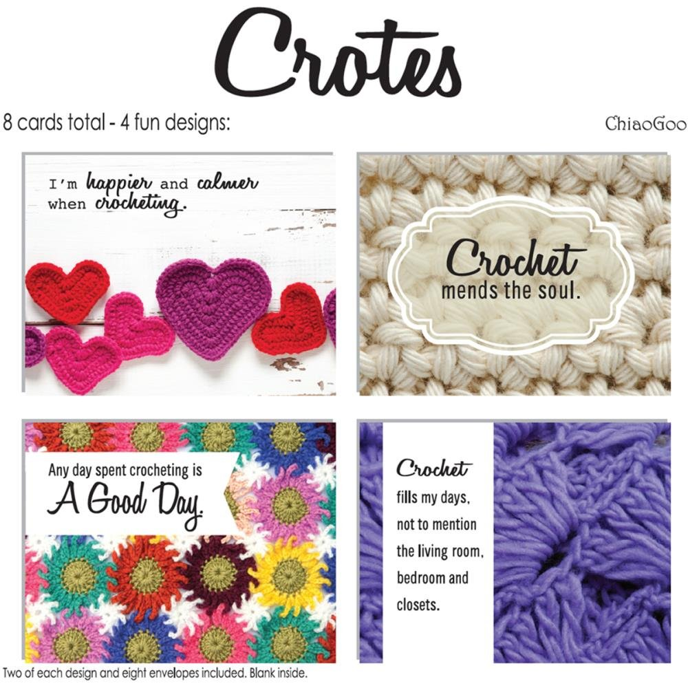 Crotes Note Cards Crocheting