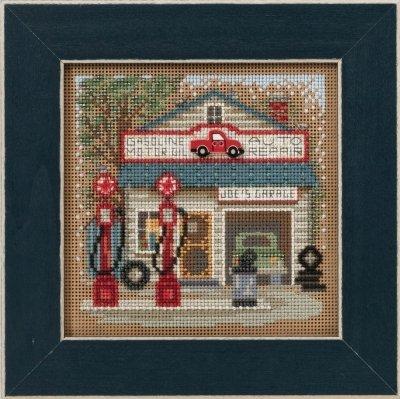 CS Kit Mill Hill Buttons & Beads Spring Series Main Street Joe's Garage