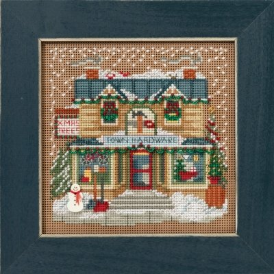 CS Kit Mill Hill Buttons & Beads Winter Series Christmas Village