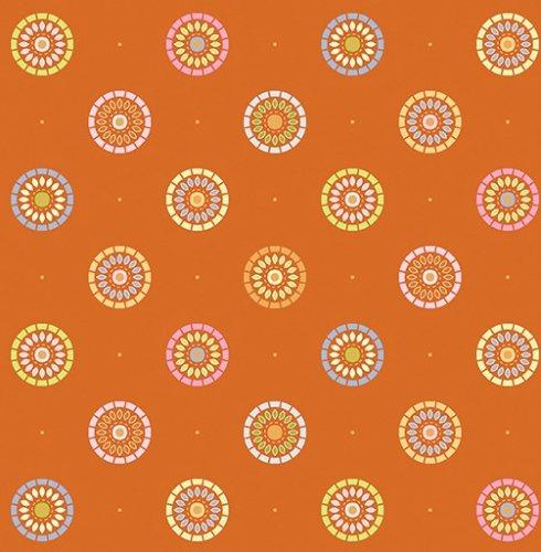 Benartex Nightingale Sunrise Orange