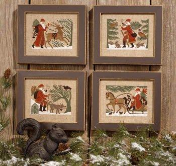 PT CS Prairie Schooler Woodland Santas